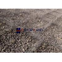 China Soil Retention Gabion Wire Baskets Cages Slope Stabilization Hexagonal Mesh on sale