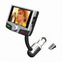Buy cheap Car MP4 Player with TFT Color LCD Screen, Supports Bluetooth A2DP product