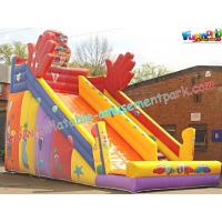 Buy cheap KidsLarge Commercial Durable  PVC tarpaulin Inflatable Slide Safety for Rent, Resale from Wholesalers