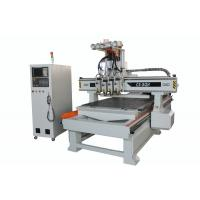 Buy cheap CE Certificated Multi Head CNC Router Infinitely Variable Speed Low Noise product