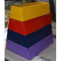 Buy cheap Non Toxic Gym Pommel Horse / Trapezoid Vaulting Box 120-110-90cm Size product
