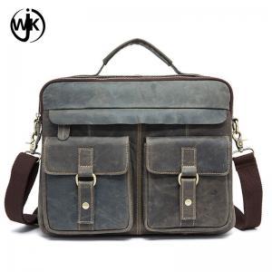 Buy cheap China factory man designer messenger bag wholesale leather handbag handmade luxury leather man bag product