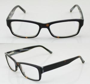 Buy cheap Unisex Flexible Hand Made Acetate Optical Frames , Fashion Eye Glasses product