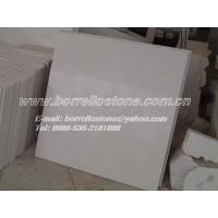 Buy cheap sell pure white marble tiles product