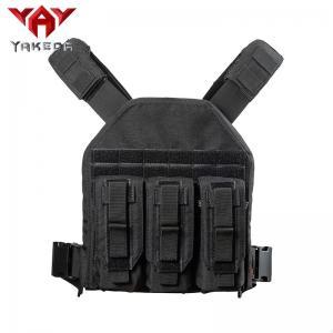 Buy cheap Black 1000D nylon Adjustable Tactical Gear Vest For Combat Training product