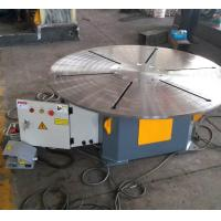 Buy cheap Horizontal Rotary Welding Positioner 20 T With Foot Pedal Wireless / Remote Cable Control product