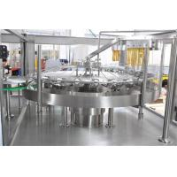 China Small Carbonated Drink Filling Machine 3000-18000 Bottles / Hour ISO Certification on sale
