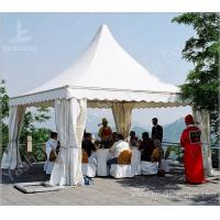 China Garden 5X5 Small Portable Gazebo Tent Pagoda With Galvanized Steel Connector on sale