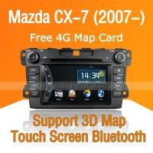 Buy cheap Car DVD Player for Mazda CX-7 - GPS Navigation Bluetooth PIP USB product