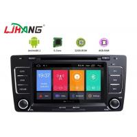 Buy cheap Skoda Octavia Vw Dvd Player , Vehicle Dvd Player With BT Canbus Rear Camera product