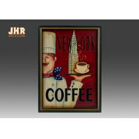 Buy cheap Antique Home Wall Decor Decorative Wall Plaques Coffee Shop Wall Art Signs product