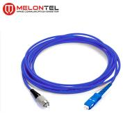 China Single Mode Fiber Optic Patch Cord Fiber Optic Armoured Patch Cord With SC-FC Connector MT S1000 on sale