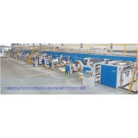 Buy cheap High Speed Layer Corrugated Paper Board Pre Press Equipment Production Line product