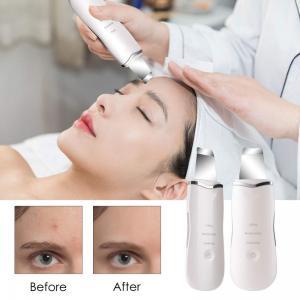Buy cheap Beauty Salon Facial Skin Ultrasonic Scrubber Electronic Skin Spatula 95g Weight product