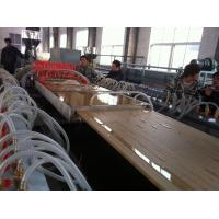 Buy cheap Furniture / Building Extrusion WPC Profile Machine For Door Board 25mm - 40mm Thickness product
