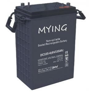 6V 335Ah Deep Cycle VRLA Battery Equivalent Of Golf Cart Battery Trojan J305P