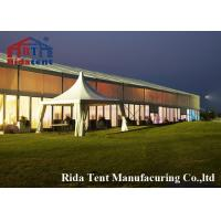 Buy cheap Special 20 X 40 Waterproof Outdoor Tent , 500 Seater Clear Wedding Tent product