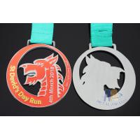 Buy cheap Die Casting Sports Award Medals 80 * 3mm For Dragon Boat Race / Sailboat product