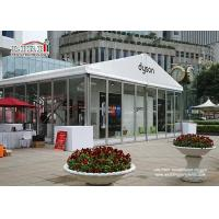 Buy cheap 10m Width Outdoor Event Tents With Glass Walls For High Class Events product