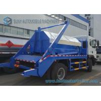 Buy cheap Dongfeng  6 Ton - 8 Ton Swing Arm Garbage Trucks With Left Hand Drive from wholesalers