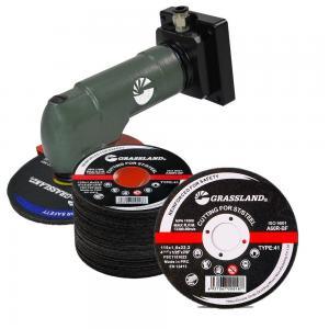 Buy cheap 115 X 1.2 X 22.23mm Abrasive Inox Cutting Discs 2 In 1 product