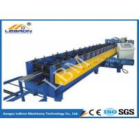 Buy cheap 75mm Roller Shaft C Z Purlin Roll Forming Machine , C Shape Purlin Making Machine product