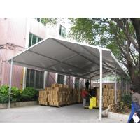 China White PVC Fabric Roof Industrial Storage Tents Customized ISO CE Certification on sale