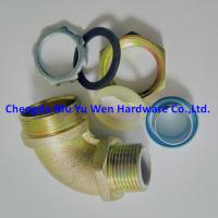 """Buy cheap Metric thread 90d elbow liquid tight malleable iron and steel connectors with zinc plated from 3/8"""" to 2"""" product"""
