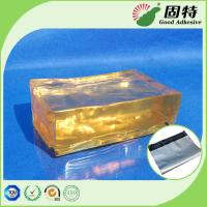 Buy cheap Yellow and semi-transparent Hot Melt Pressure Sensitive Glue Adhesive For Mail Bag Sealing Good Like Henkel product