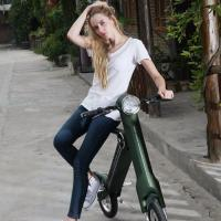 Cool Fast Folding Foldable Electric Scooter Keyless System For Office Worker