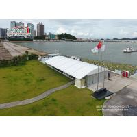 Buy cheap Glass Wall Dome Tent Structure for Golf Game Lounge arcum tents liri tents product