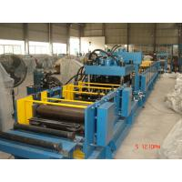 Full Automatic C Z Purlin Roll Forming Machine , Metal Roof Tile Making Machine