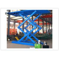 Buy cheap Double Acting Single Piston Hydraulic Scissor Lift for Engineering Machinery product