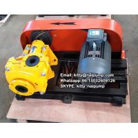China 30 Years Factory Nature Rubber Corrosion  resistance  Horizontal  3/2 C-AH Slurry Pump on sale