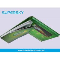 China Multi Language Rechargeable LCD Video Brochure High - Definition with HiFI Speaker on sale