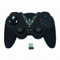 Buy cheap 2.4GHz Wireless Computer Game Controller with Ergonomic Design product