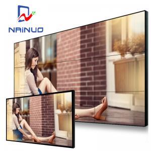 55 Inch Seamless LCD Video Wall , Frameless Video Wall Narrow Side 1.7 Mm