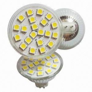 Buy cheap LED Spotlight Cup Lamp, MR16, G5.3, GU10, 21pcs SMD 5050, 220V/12V product
