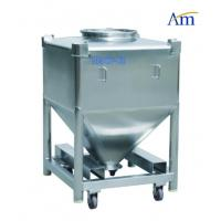 China Durable Pharmaceutical Accessories Square Shape Steel IBC Tank Large Volume on sale