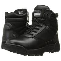 Buy cheap Black Military Tactical Boots Classic 6 Inch Side - Zip Comfortable product
