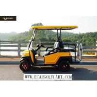 Buy cheap Injection Material 4 Seater Electric Golf Cart 35 Km/H Max Speed , 100 Km Driving Mileage product
