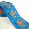 Buy cheap 3 inch blue background colorful sleep unicorn design fita de gorgurao from wholesalers