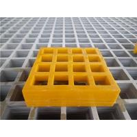 Buy cheap Industrial GRP Mesh size1220x3660mm thickness 25-40mm product