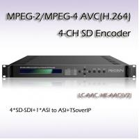 Buy cheap RES2304 MPEG-2/H.264 Four-Channel SD Encoder low delay encoder product