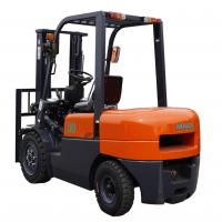 3000mm Lift Height Diesel Forklift Truck With Pneumatic Tires Automatic for sale