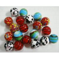 China Christmas Handmade Decorated Glass Ball Ornaments For Engagement on sale