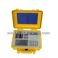 Buy cheap measuring transformer turn ratio tester China Portable Power Transformer Turns Ratio Meter/3 Phase TTR Tester product