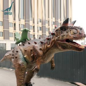 Children lovely backyard rides animatronic dinos carnotaurus