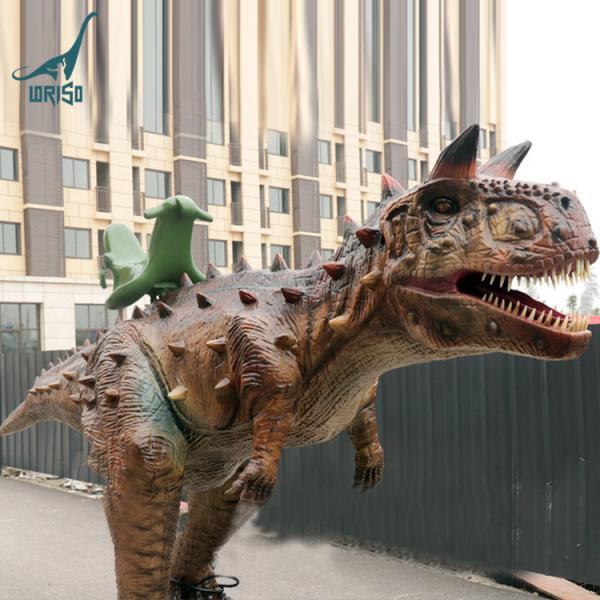 Quality Children lovely backyard rides animatronic dinos carnotaurus for sale