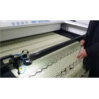Buy cheap Knitting Curtain Automatic Leather Laser Cutting Machine Cutting Speed 0 - 48000mm \ Min product